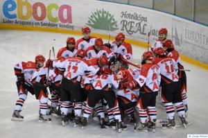 CH Jaca viajará hasta Hungría para disputar la Copa Continental de hockey sobre hielo