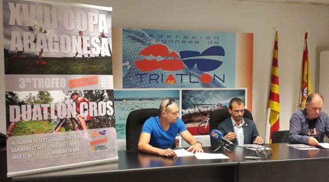 Arranca en Alfajarín la XVIII Copa Aragonesa de Duatlón Cros 3er Trofeo Transizion