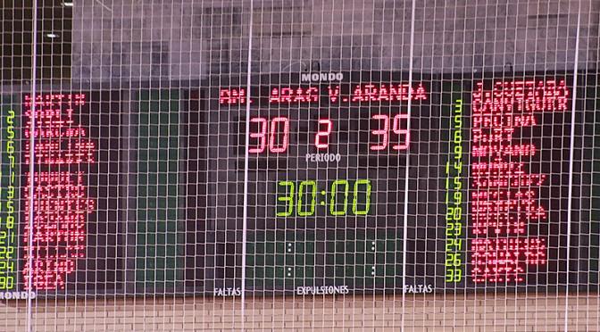 (30-35) BM Aragón-BM Villa Aranda. Se luchó, pero no pudo ser (@balonmanoaragon)