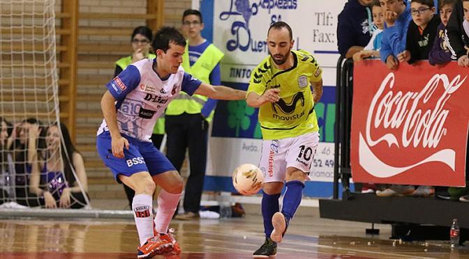 Pese a la derrota, D-Link Zaragoza mantuvo el tipo ante Movistar Inter FS (4-7)